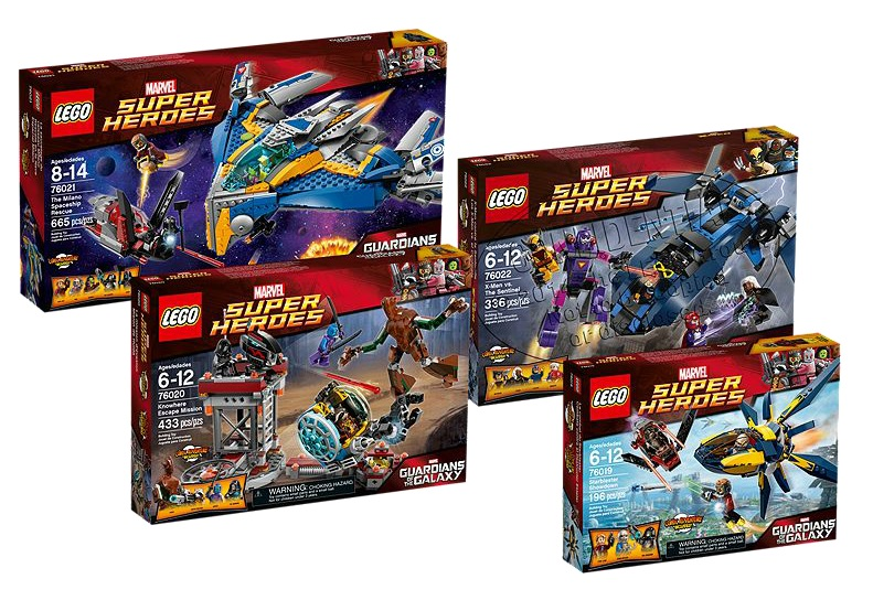5004191 Marvel Super Heroes LEGO Guardians of the Galaxy Collection 76021 76022 76020 76019 - Toysnbricks