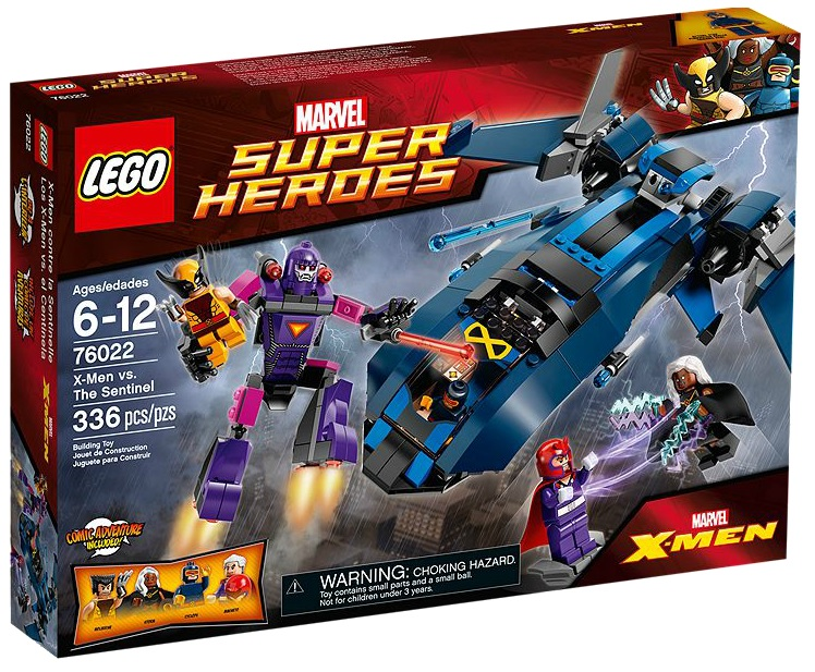 76022 LEGO Marvel Super Heroes X-Men vs. The Sentinel - Toysnbricks