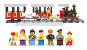 LEGO 4000014 LEGOLAND Train 2014 Insider Tour Set