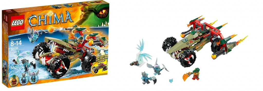 LEGO Chima 70135 Cragger's Fire Striker - Toysnbricks