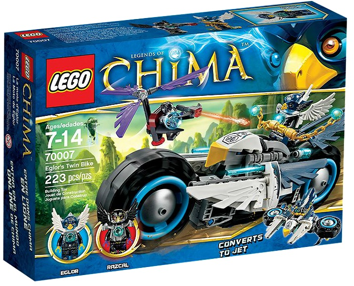 Lego Chima Vornon Lego Chima Eglor 39 s Twin Bike