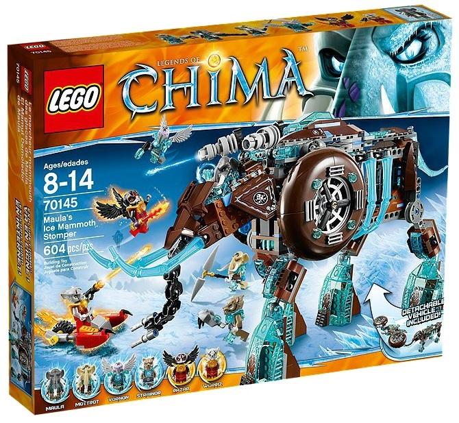 LEGO Chima Maula's Ice Mammoth Stomper 70145 - Toysnbricks