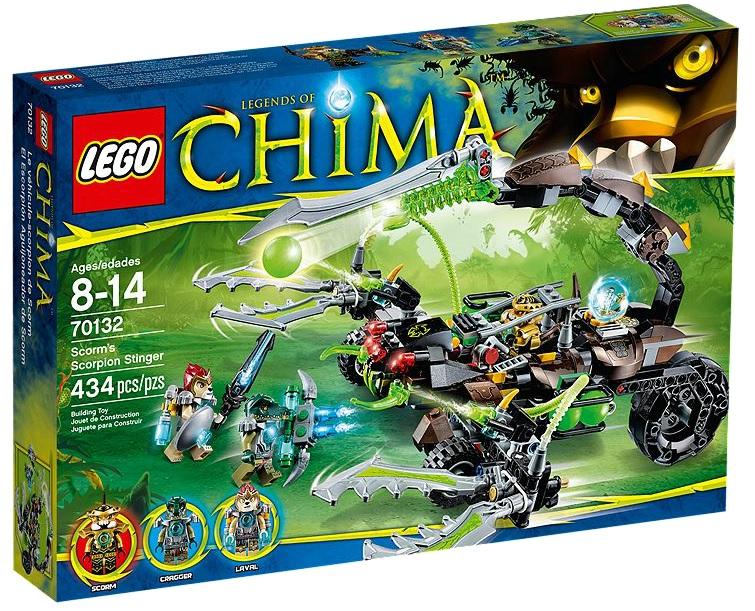 LEGO Chima Scorm's Scorpion Stinger 70132 - Toysnbricks