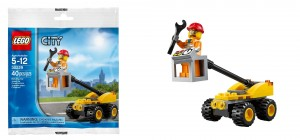 LEGO City Repair Lift 30229 Polybag - Toysnbricks