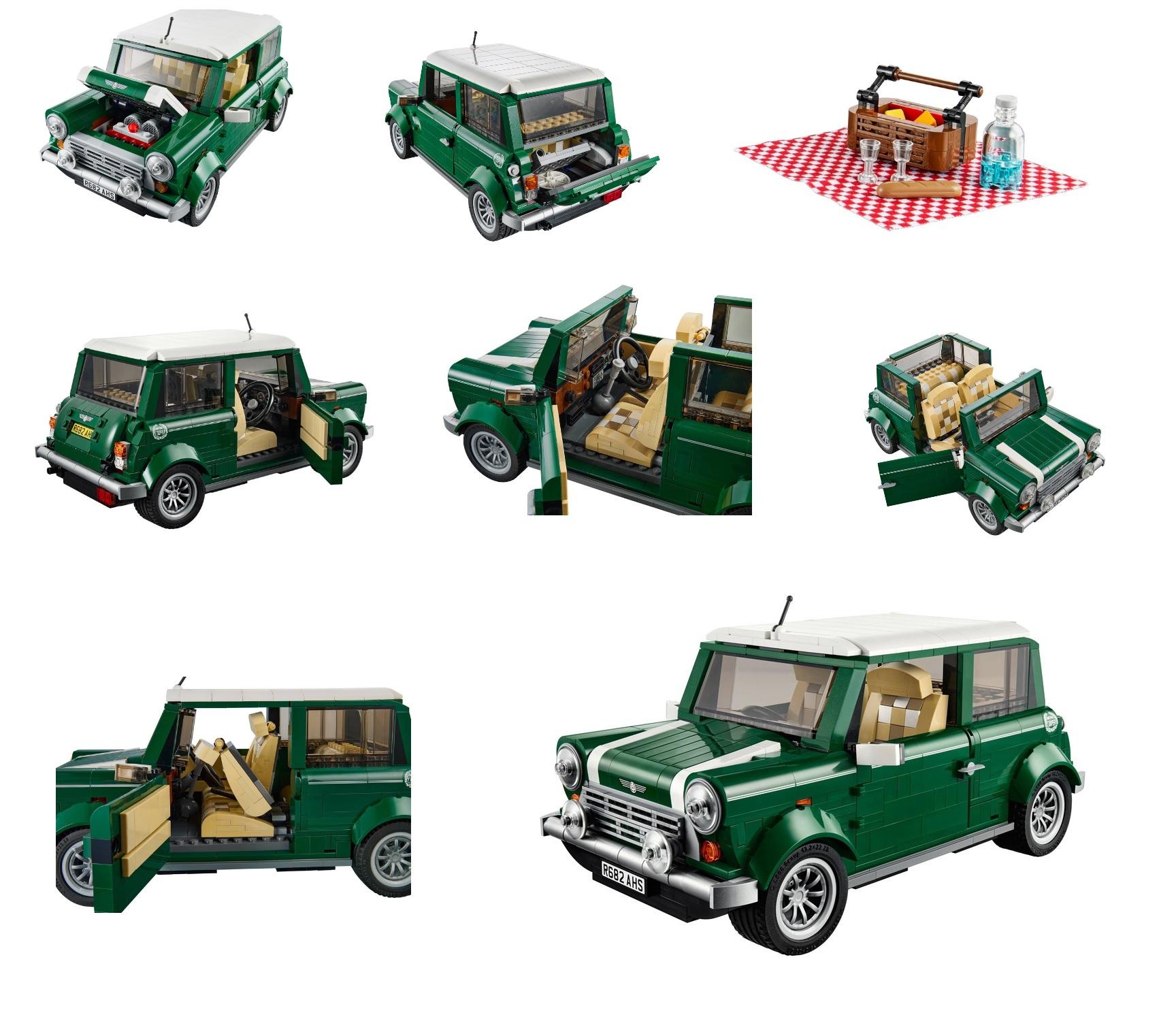 lego 10242 mini cooper brand new sealed box ebay. Black Bedroom Furniture Sets. Home Design Ideas