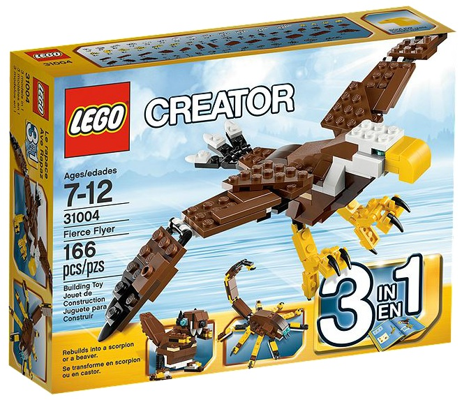 LEGO Creator Fierce Flyer 31004 - Toysnbricks