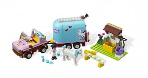 LEGO Friends Emma's Horse Trailer 3186 - Toysnbricks