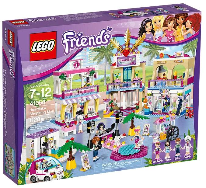 LEGO Friends Heartlake Shopping Mall 41058 - Toysnbricks