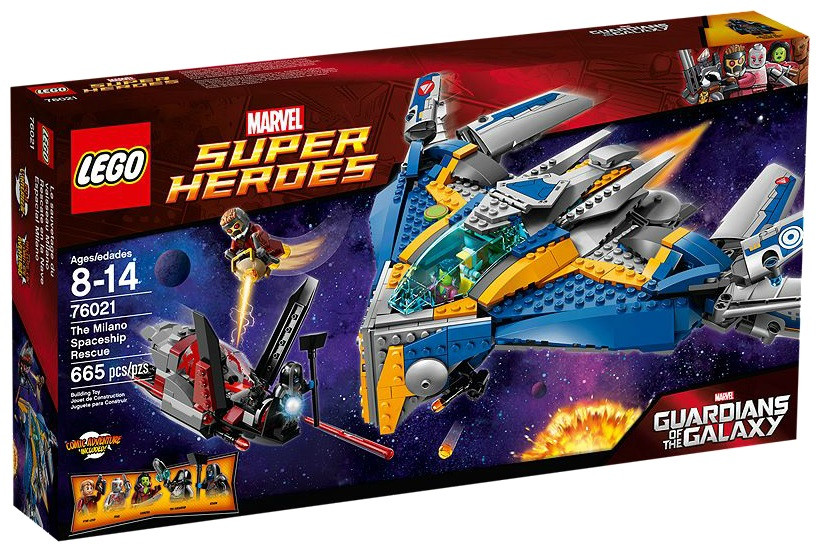 LEGO Guardian of the Galaxy Super Heroes 76021 The Milano Spaceship Rescue - Toysnbricks