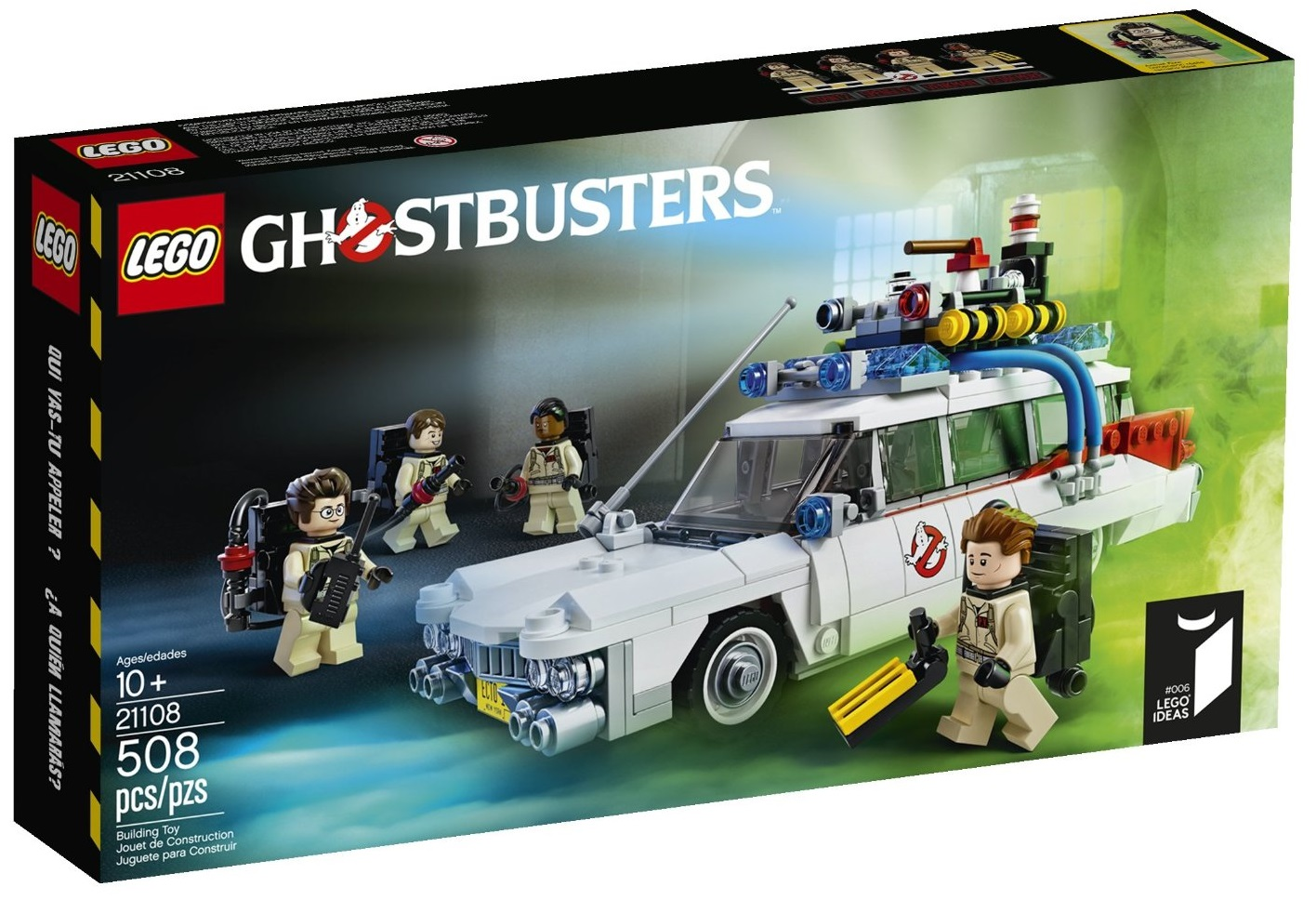LEGO Ideas Ghostbusters Ecto-1 21108 - Toysnbricks