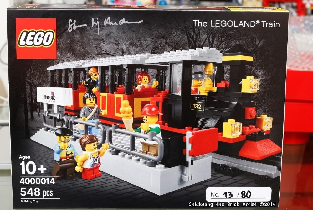 LEGO Insider Tour 2014 Exclusive 4000014 LEGOLAND Train Gift