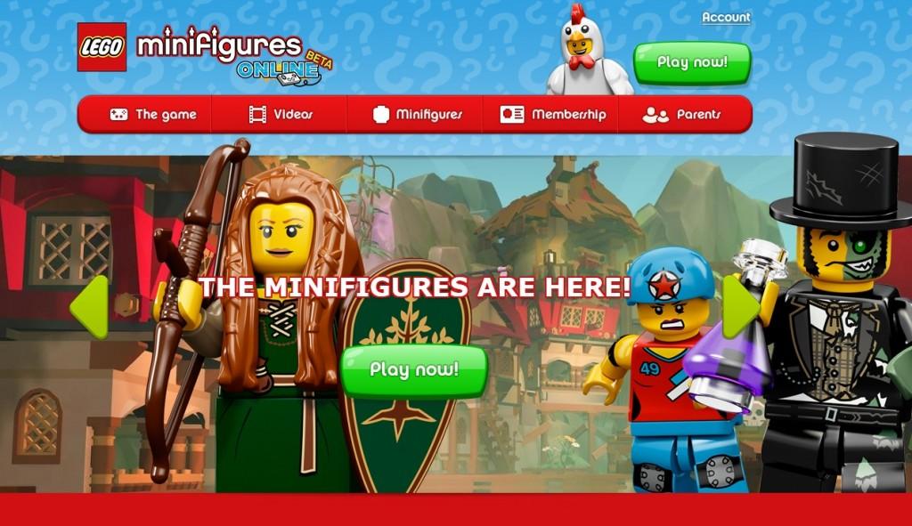 LEGO Minifigures Online Game Play Beta June 2014