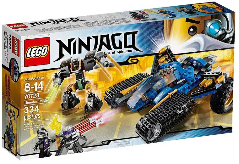 LEGO Ninjago Thunder Raider 70723 - Toysnbricks
