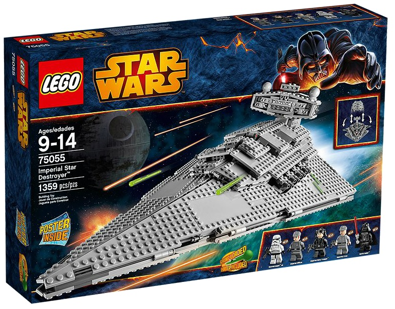 LEGO Star Wars 75055 Imperial Star Destroyer - Toysnbricks