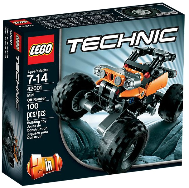 LEGO Technic 42001 Mini Off-Roader - Toysnbricks