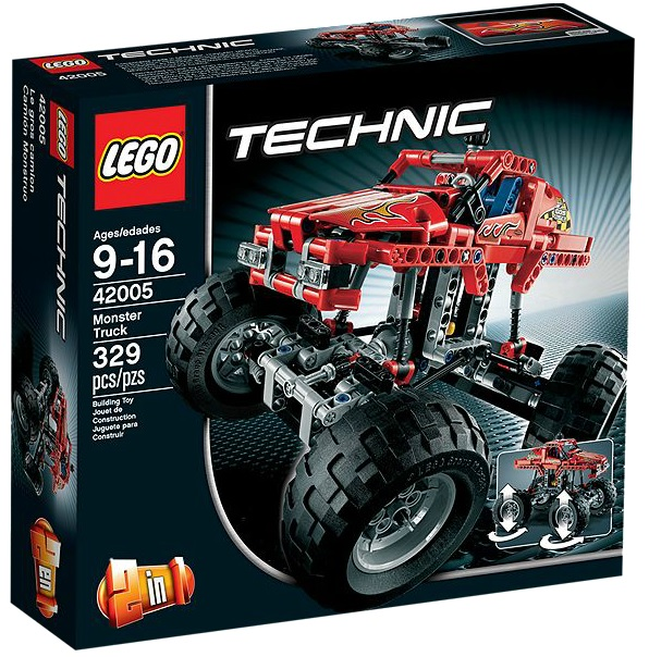 LEGO Technic Monster Truck 42005 - Toysnbricks