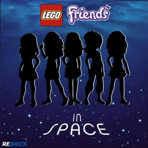 Rebrick In Space LEGO Friends Contest June 2014