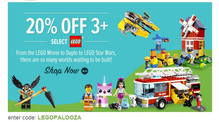 Yoyo June 2014 LEGO Sale Summer