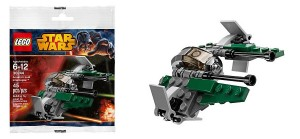 30244 LEGO Star Wars Anakin's Jedi Interceptor Mini Polybag - Toysnbricks