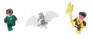 DC LEGO 76025 Minifigures Space Batman Hal Jordan Green Lantern and Sinestro January 2015