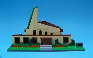 First Church of Springfield by StClair Toysnbricks LEGO Simpsons Contest 2014 July