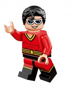 Gamestop LEGO Plastic Man Minifigure Beyond Gotham Video Game Bonus 2014
