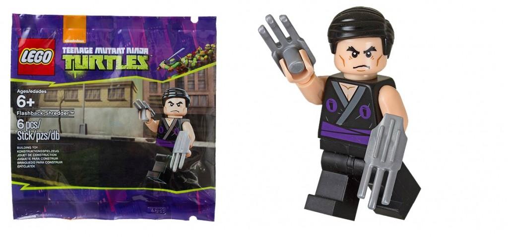 LEGO 5002127 Teenage Mutant Ninja Turtles Flashback Shredder Minifigure - Toysnbricks