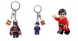 LEGO Batman 3 Beyond Gotham Bonus Batgirl, Joker Keychain, Plastic Man Minifigure - Toysnbricks