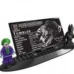 LEGO Batman 76023 The Tumbler UCS Minifigures Plate - Toysnbricks