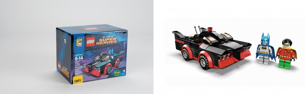 LEGO Batman Classic TV Series Batmobile SDCC 2014 Exclusive Set