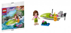 LEGO Friends 30115 Jungle Boat - Toysnbricks