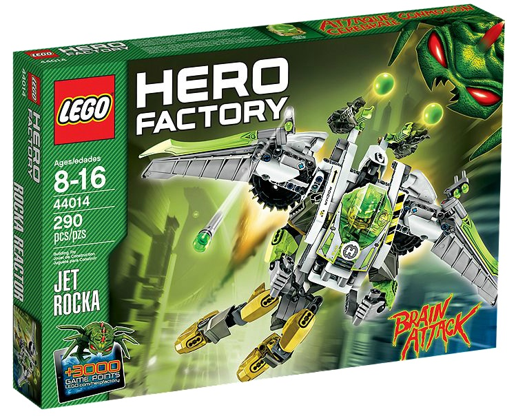 LEGO Hero Factory JET ROCKA 44014 - Toysnbricks