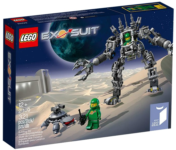 LEGO Ideas 21109 Exo-Suit - Toysnbricks