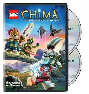 LEGO Legends of Chima Season 1 Part 2 DVD (2014)