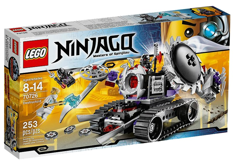 LEGO Ninjago Destructoid 70726 - Toysnbricks