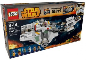 LEGO Star Wars 66512 Rebels Super Pack (75048 The Phantom, 75053 The Ghost) - Toysnbricks