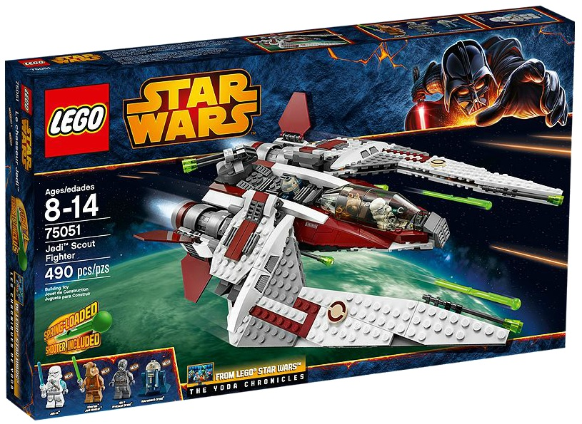 LEGO Star Wars 75051 Jedi Scout Fighter - Toysnbricks