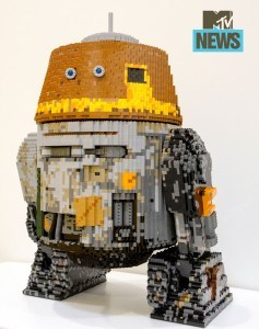 LEGO Star Wars Chopper Droid Model SDCC 2014