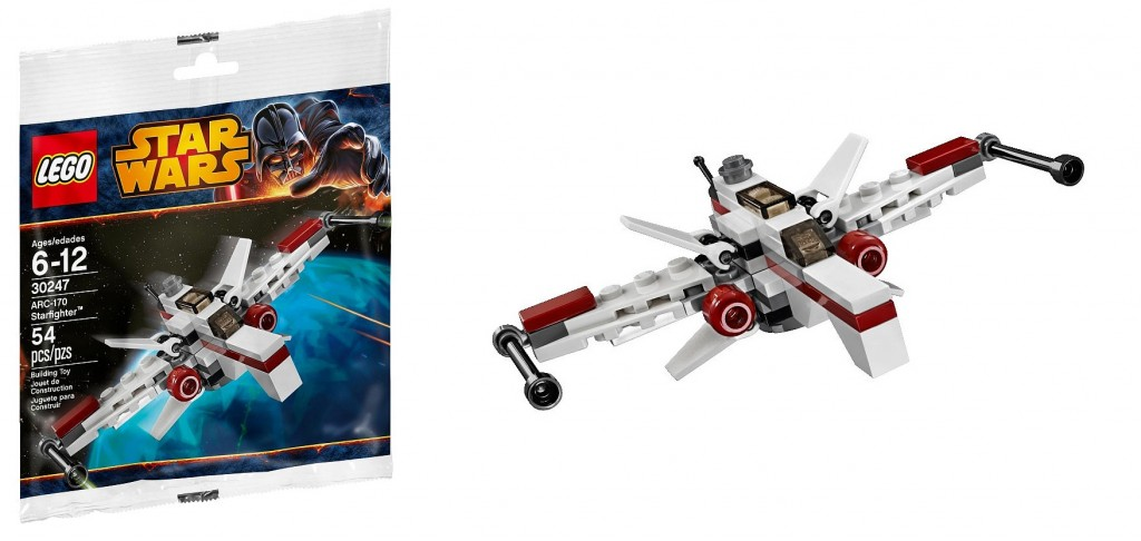 LEGO Star Wars Mini Arc-170 Starfighter 30247 Polybag - Toysnbricks