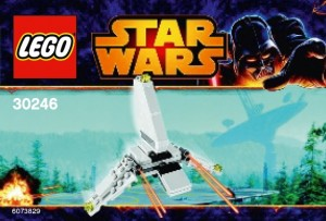 LEGO Star Wars Mini Imperial Shuttle 30246 - Toysnbricks