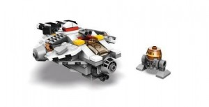 LEGO Star Wars Rebel Ghost Millennium Falcon-esque Freighter Set SDCC 2014