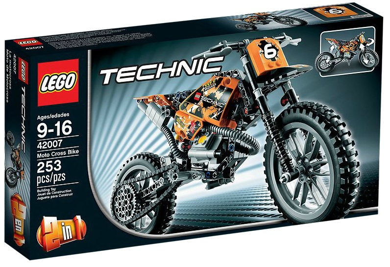 LEGO Technic Moto Cross Bike 42007 - Toysnbricks