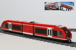 [MOC] LEGO Stadler GTW Railcar