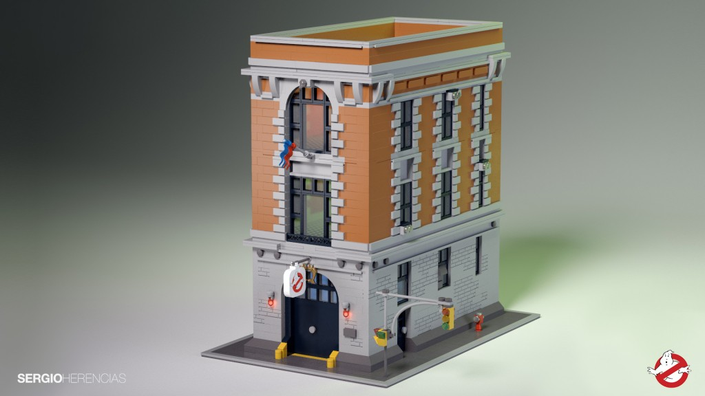 Ghostbusters HQ Creation August 2014 - Potential LEGO Ideas Set