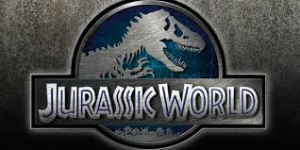 Jurassic World Logo Banner 2015 June