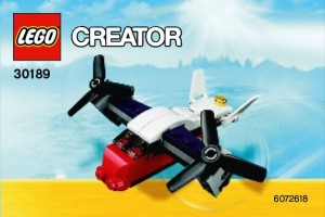 LEGO 30189 Creator Mini Transport Plane Polybag - Toysnbricks