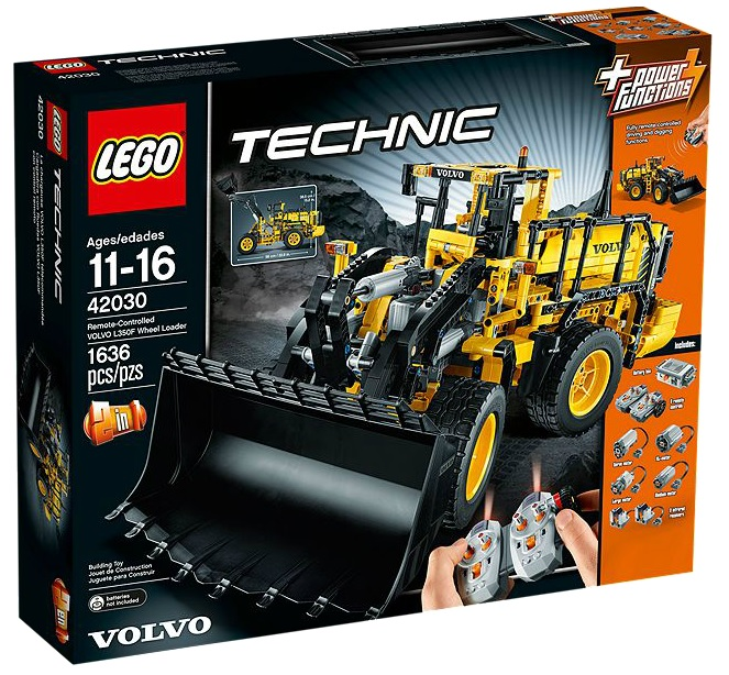 LEGO 42030 Technic Remote-Controlled VOLVO L350F Wheel Loader - Toysnbricks