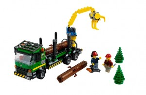 LEGO City Logging Truck 60059 - Toysnbricks