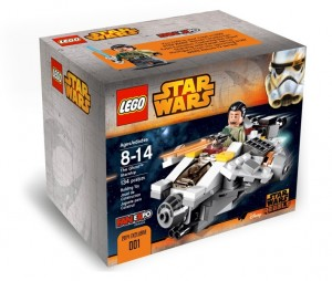 LEGO STAR WARS Rebels The Ghost Starship (Kanan Jarrus Minifigure) Fan Expo 2014 Canada - Toysnbricks
