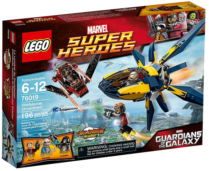 LEGO Super Heroes Marvel 76019 Starblaster Showdown - Toysnbricks